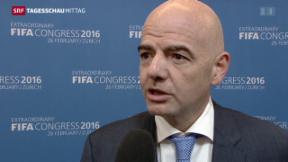 Video «Fifa wählt neuen Präsidenten» abspielen