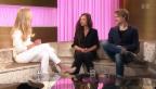Video «Meistermimen: Die Quartz-Gewinner Sabine Timoteo & Sven Schelker» abspielen