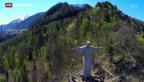 Video ««Cristo Redentor» über Bad Ragaz» abspielen