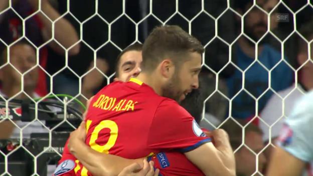 spanien türkei highlights