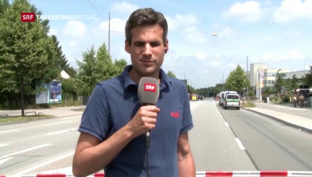 Video «Marcel Anderwert berichtet aus München» abspielen