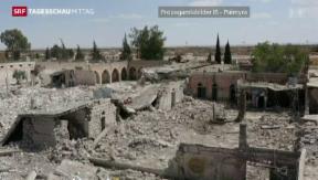 Video «IS sprengt Gefängnis in Syrien» abspielen