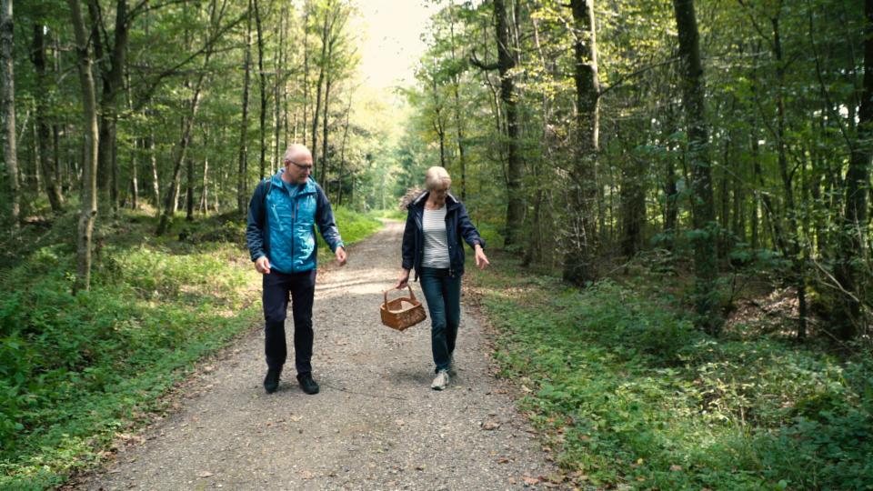 Pilze sammeln mit Outdoor-Reporter Marcel Hähni