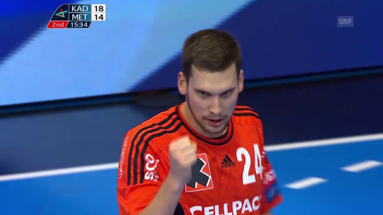 Handball: CL, Kadetten-Metallurg