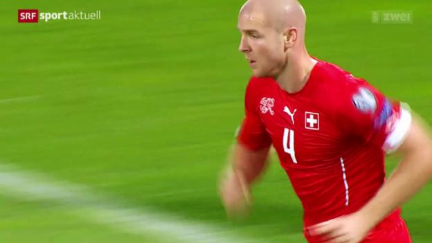 Video «Senderos vor dem Test gegen Bosnien» abspielen