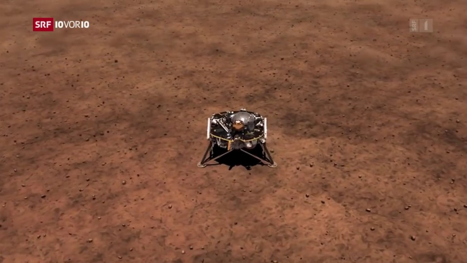 Aus dem Archiv: Nasa-Mission zum Mars mit Schweizer Beteiligung