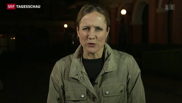Video «Einschätzungen von Barbara Lüthi aus Kathmandu» abspielen