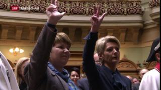 Video «Bundesratswahl: Der Tag im Rückblick» abspielen