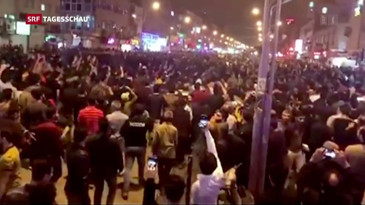 Iran: Zahlreiche Demonstranten verhaftet