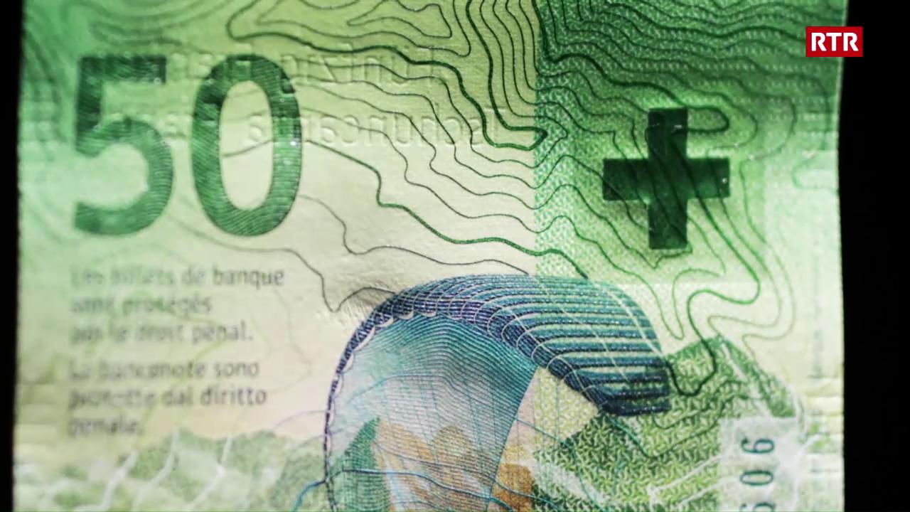 Banca naziunala preschenta la bancnota da 50 nova