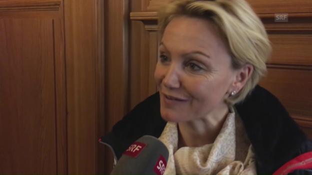 Video «Sonja Nef über Lara Gut und ihren Alltag» abspielen