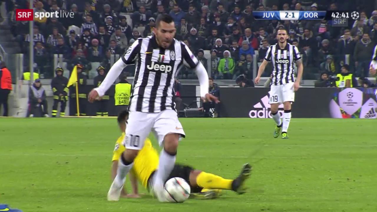 Fussball: Juventus - Dortmund, Die Highlights