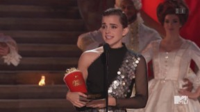 Video «MTV Movie Awards: Emma Watson ist die grosse Siegerin» abspielen