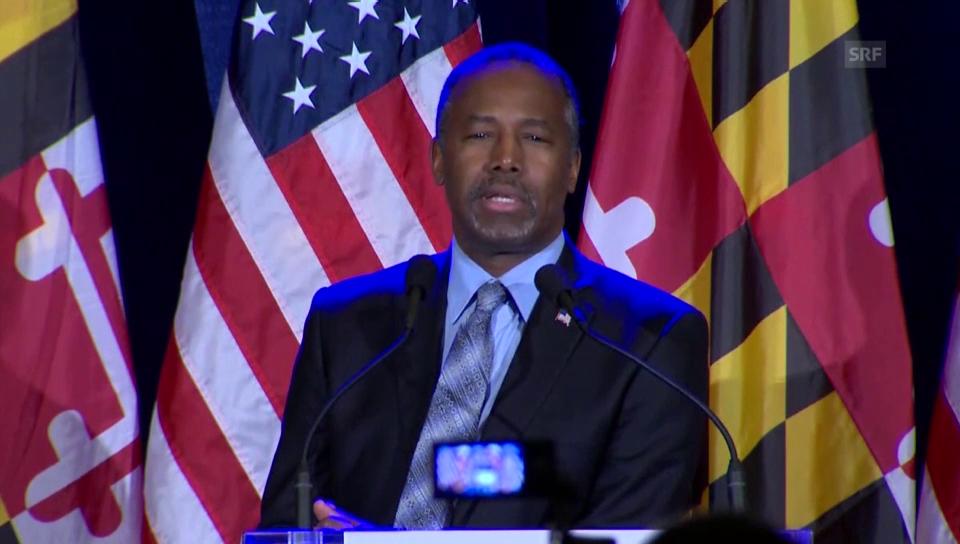 Carson will weitermachen (englisch)