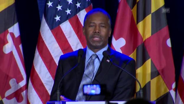 Video «Carson will weitermachen (englisch)» abspielen