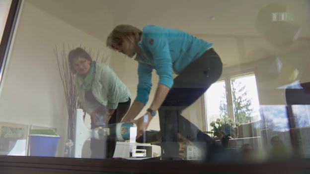 Video «Fensterreinigung im Test: Reinigen Roboter besser?» abspielen