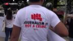 Video «Sieben Jahre Haft für Reuters-Journalisten» abspielen