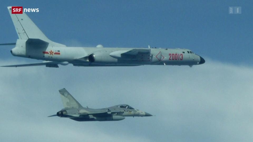 Was bezweckt China mit Militärjets in Taiwans Luftraum?