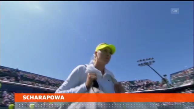Scharapowa sagt US-Open-Teilnahme ab («sportlive»)