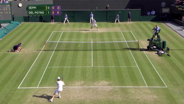 Tennis: Del Potro-Seppi («sportlive»)