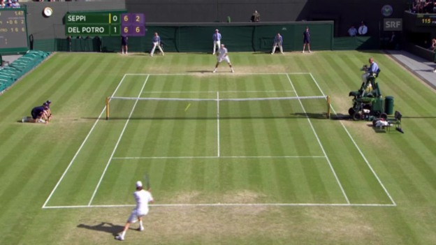 Video «Tennis: Del Potro-Seppi («sportlive»)» abspielen
