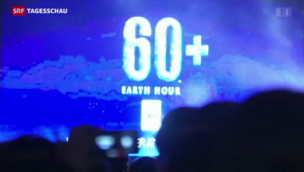 Video «Weltweites Lichterlöschen» abspielen