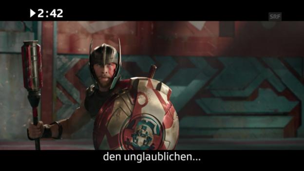 Video «Kinostart diese Woche: «Thor 3»» abspielen