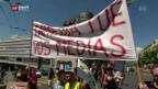 Video «Tamedia sanktioniert streikende Mitarbeiter» abspielen