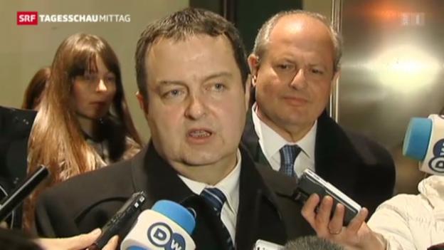 Video «Gespräche zwischen Serbien und Kosovo gescheitert» abspielen
