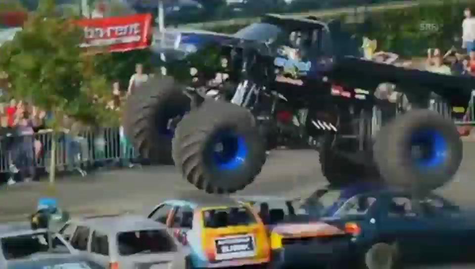 Tödlicher Unfall mit Monster-Truck