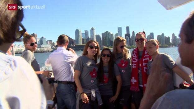 Video «Fussball: Boattrip der Frauen-Nati» abspielen