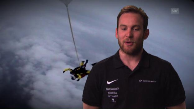 Video «Weber: Kampfjetpilot, Skydiver oder Bungee-Jumper?» abspielen