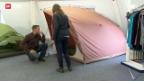 Video «Aufbruchstimmung bei Zeltfirma» abspielen