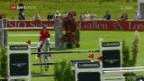 Video «Schweizer Springreiter nur auf Rang 6» abspielen
