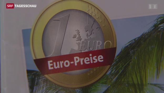 Video «Schnäppchenjagd dank tiefem Euro» abspielen