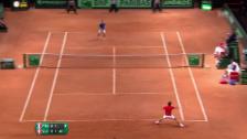 Video «Breakball Federer zum 2:1» abspielen