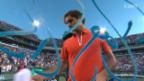 Video «Tennis: Federer bezwingt Wawrinka» abspielen