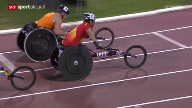 Video «Leichtathletik: IPC-WM in Doha» abspielen