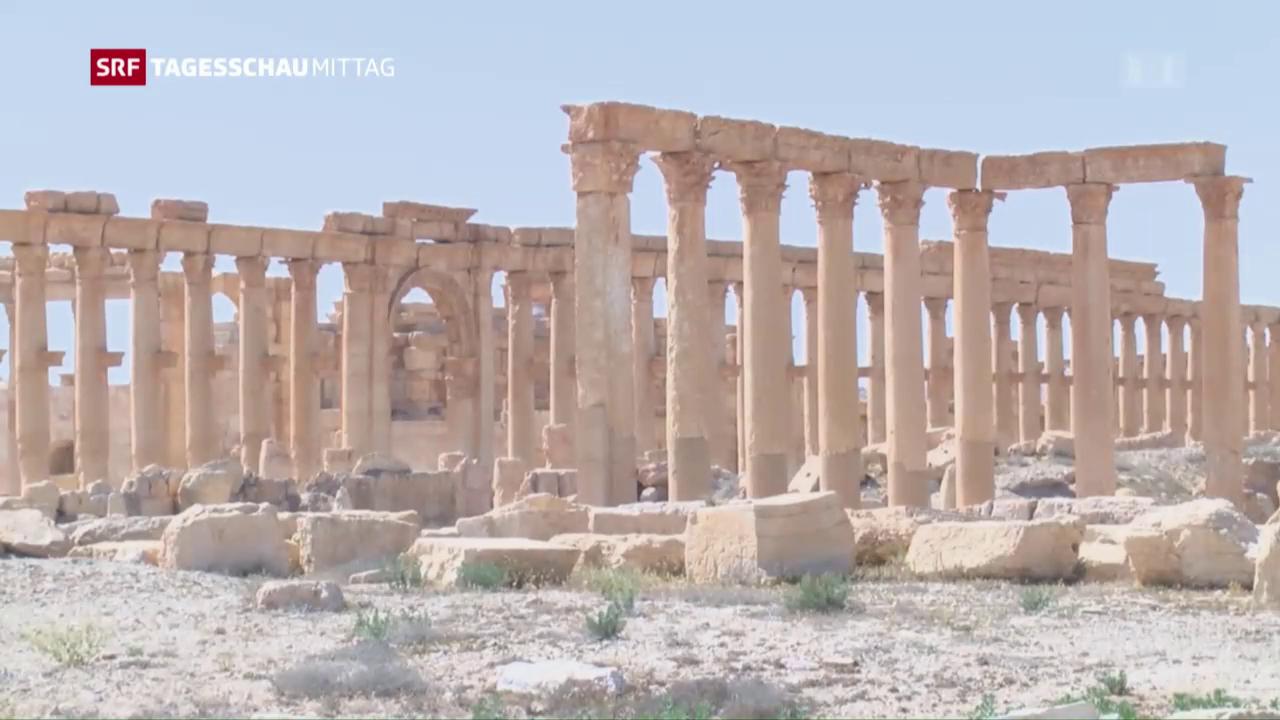 Weltkulturerbe in Syrien zerstört