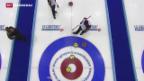 Video «Schweizer Curling-Team im Final» abspielen