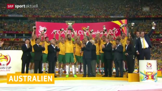 Video «Australien ist Asienmeister («sportaktuell»)» abspielen