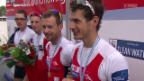 Video «Rudern: Die Schweizer an der WM in Amsterdam» abspielen