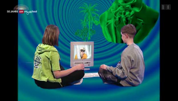 Video «Archivperle: Internet Grundbegriffe – 1998» abspielen