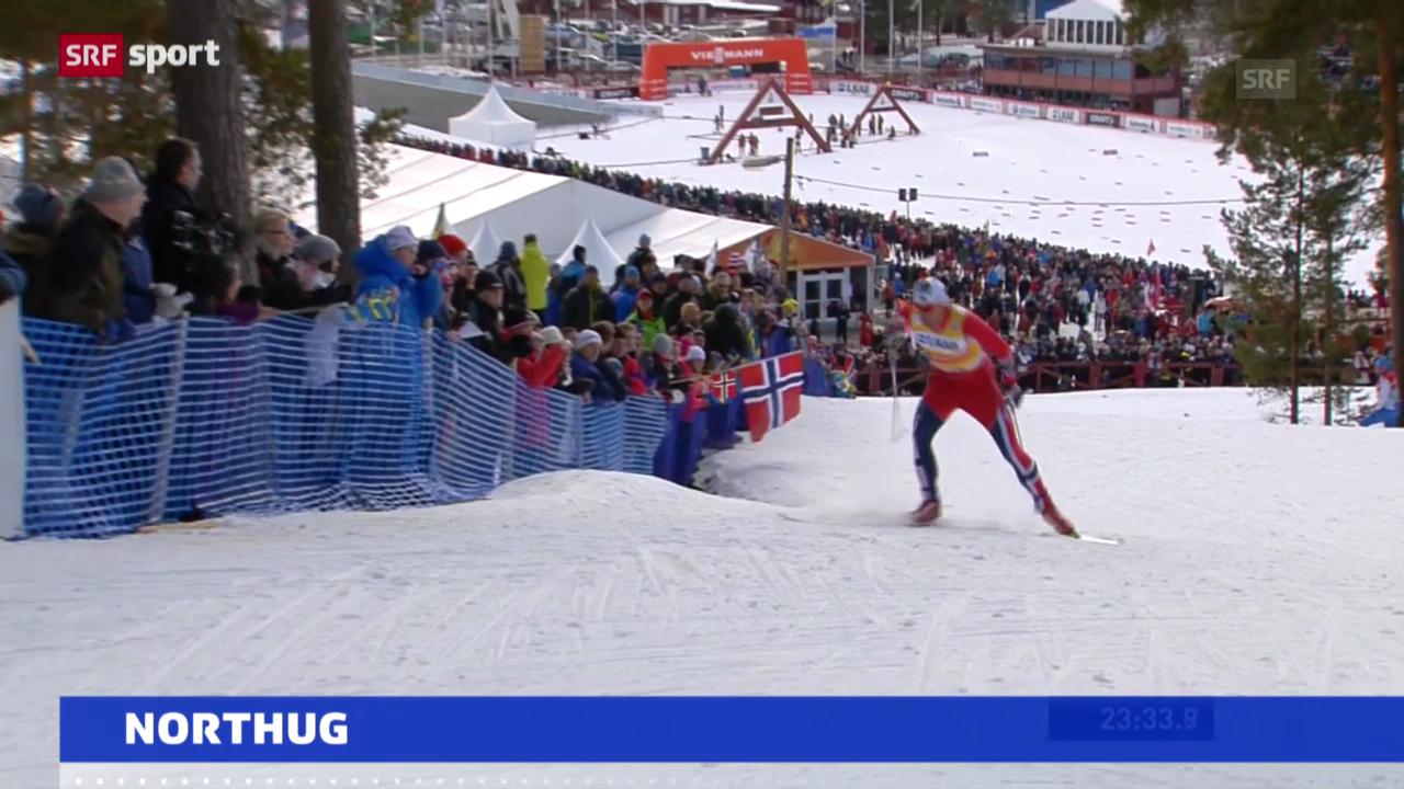 Petter Northug leidet an Virus («sportaktuell»)