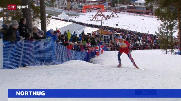 Video «Petter Northug leidet an Virus («sportaktuell»)» abspielen