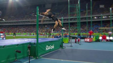 Video «Drouins Goldsprung über 2,38 m» abspielen