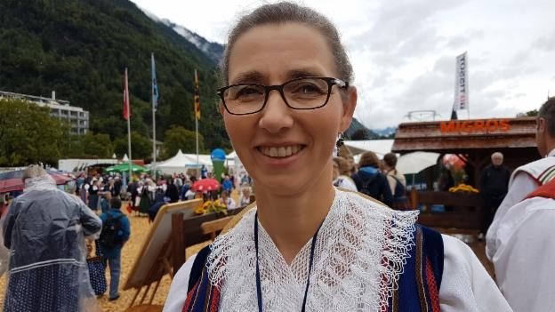 Video «Maria Kaufmann und ihre Luzerner Sonntagstracht» abspielen