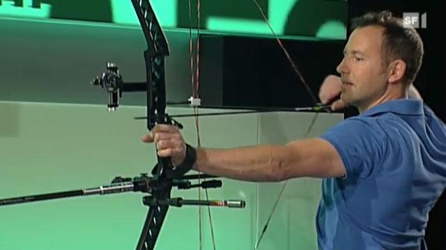 Martin Spring - Schweizer Meister im 3D-Bogenschiessen