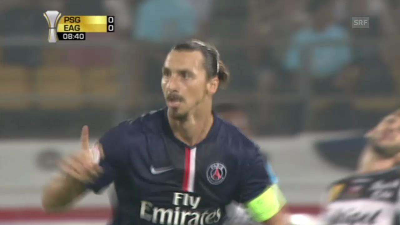 Die 2 Treffer von Ibrahimovic, unkommentiert (Quelle: EVS)