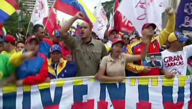 Video ««Wir wollen ein friedliches Venezuela»» abspielen